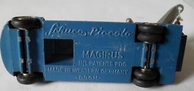 Schuco Piccolo Magirus Abschlepper blau 1:90 alt 6