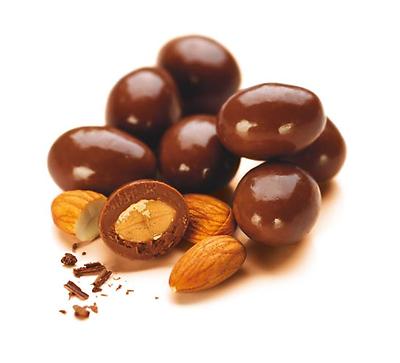 Morlife Dark Chocolate Almond Nuts 125g x3 | Healthy Snack | Gluten Free