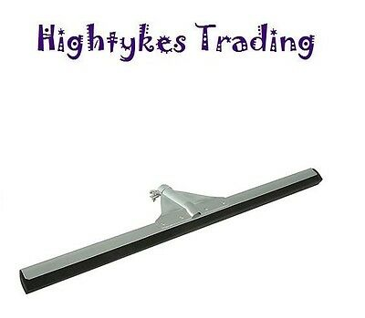 Silverline 450mm Floor Squeegee rubber wiper 427693 wet room flood c/w handle