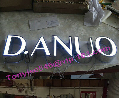 customized lighting sign letters business logos signage channel letters,12inches 2