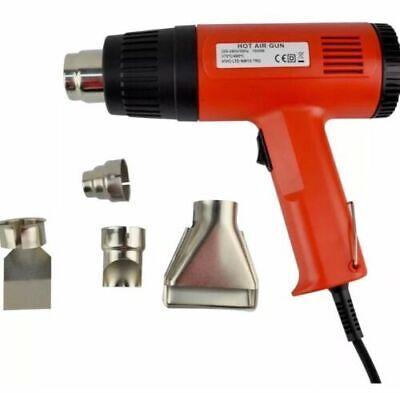 2000W Hot Air Heat Gun Shrink Paint Stripper Electric Soldering DIY Tool BA01 5