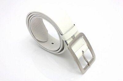 Les hommes cuir véritable robe ceinture Casual pin boucle ceinture courroi CH 5