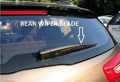 "REAR WINDSCREEN WIPER BLADE FOR SUZUKI SX4 EXCL S-CROSS 2006-2015 250MM 10/"""