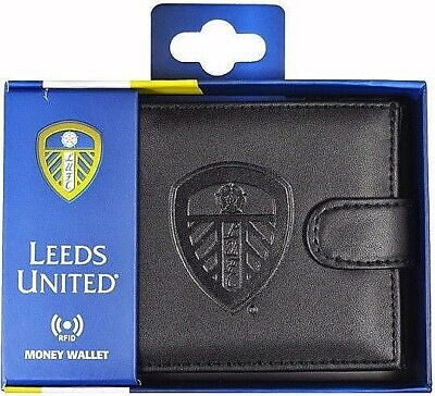 Debossed Crest Rfid Leather - Football Club Sports Boxed Money Wallet Purse 7