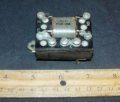 VINTAGE WESTERN ELECTRIC 302 Telephone Induction 101A Coil (s) 2