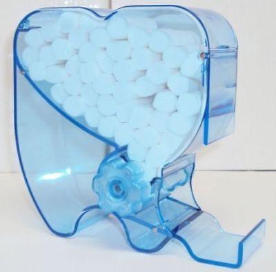 Dental Autoclavable Cotton Roll Place Dispenser Holder Molar Shaped Press Push
