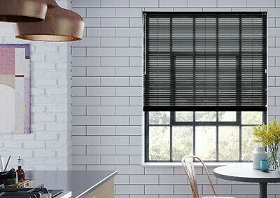 Pvc Venetian Blinds Easy Fit Trimable Home Office Window VENETIAN Blind All Size 4