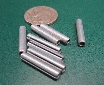 """Zinc Plate Slotted Roll Spring Pin, 9/64"""" Dia x 3/4"""" Length, 100 pcs 8"""