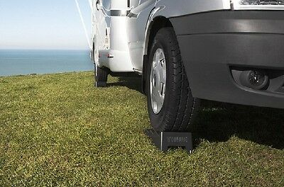 Calzos Niveladores Thule Leveller Negros + Bolsa Transporte Cuña Calzo Nivel 5