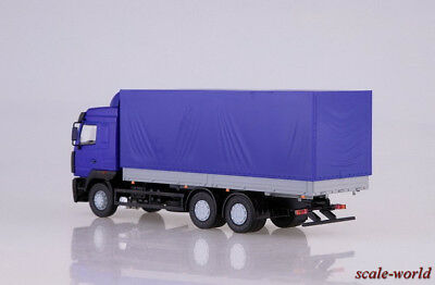 AIST Scale model truck 1//43 MAZ-6312 side with an awning  Autostore