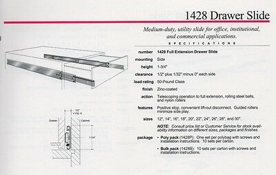 slides slide is knape kv in to class vogt use drawer with available new from lb up for series the wide sizes drawers