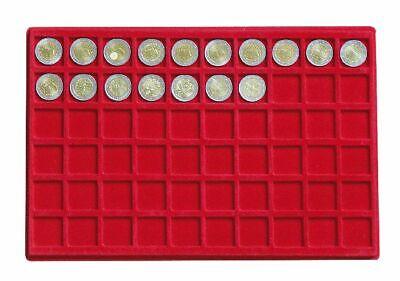 Look Alluminio Valigia per Monete Gigante 15 Tableaux Rosso 60 Scompartimenti 2