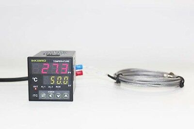 INKBIRD Digital Thermostat PID Temperature Controller K sensor SSR 240v 220V  UK 2