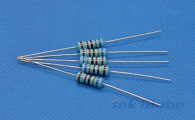 100pcs Metal Film Resistor 1//4W 1/% 100 ohm 100R 100Ω