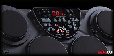 Ashton EDP450 Electronic Digital Drum Pads Bass Drum & Hi Hat Pedals 6