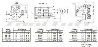 11 GPM Hydraulic Log Splitter Pump, 2 Stage Hi Lo Gear Pump, Logsplitter, NEW 3