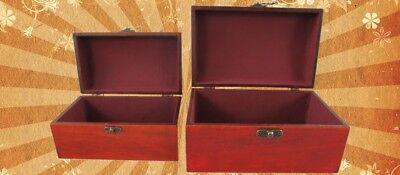 Schmuckschatulle Set v.2 Holz farbe Mahagonie Vintage Designer Geschenk Luxus 2