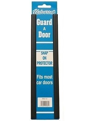 "PAIR OF 12 "" BLACK Door Guard Snap On Strip Car Protectors  GD42/12"