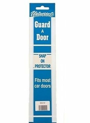 """PAIR OF 12 """" WHITE  Door Guard Snap On Strip Car Protectors 300mm GD44/12"""