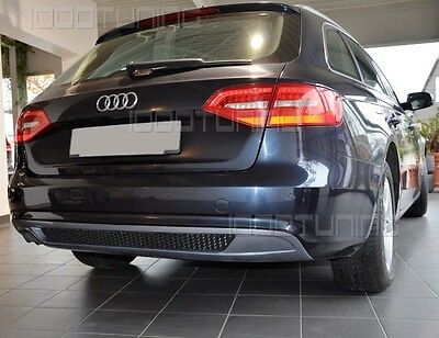 Audi A4 B8 8k Facelift Diffusor Heckdiffusor S Line Look Spoiler