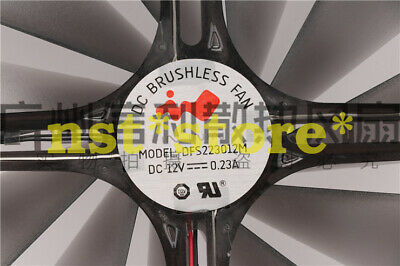 Applicable for DFS223012M 12VDC 0.23A DC BRUSHLESS FAN 22CM Cooling Fan 2