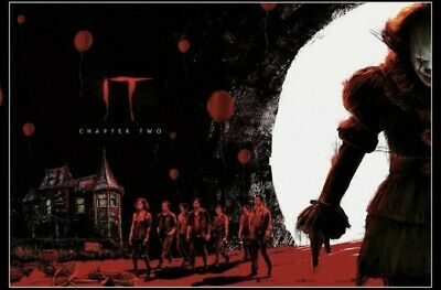 """""""IT"""" Chapter Two Posters 2019 Odeon Exclusive, Part 1 and 2, Complete Set, NEW 2"""
