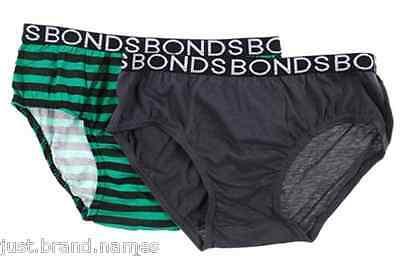 Bonds Boys Kids 3 Pack Cotton Trunks Underwear sizes 10 12 14 16 Multi Colour