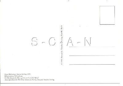 1950s Type Semi Nude Large (4.25 x 6.25) Pinup PC- Joyce Ballantyne- Ink Spill