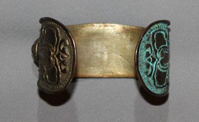 Antique Greek Medieval Bronze Fertility Bracelet