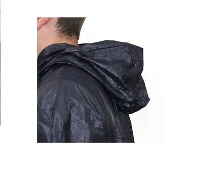 Chubasquero impermeable capa con capucha poncho 4