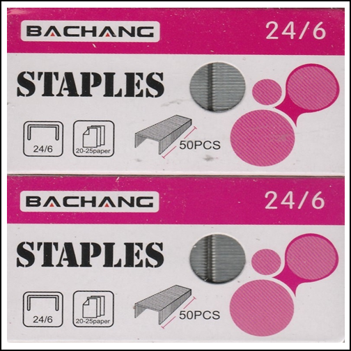 !New! Office Impressions 24/6 Pack Standard Staples 2000 Count 2 Packs !Fr -Sh!