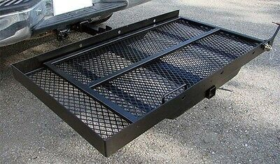 Mobility Carrier Wheelchair Scooter Rack Disability Medical Ramp Hitch Mount New 3
