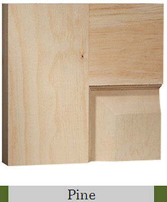 5 Panel Clear Pine Craftsman Raised Panel Stain Grade Solid Core
