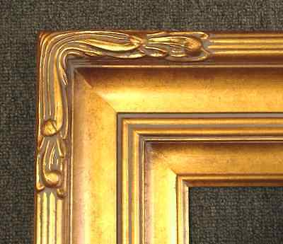 """5/"""" WIDE Gold Leaf Ornate photo Oil Painting Gallery Picture Frames4art 607G"""