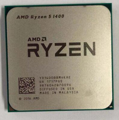 AMD Ryzen 5 R5-1400 R5-1500X R5-1600 R5-1600X Socket AM4 CPU Processor 3