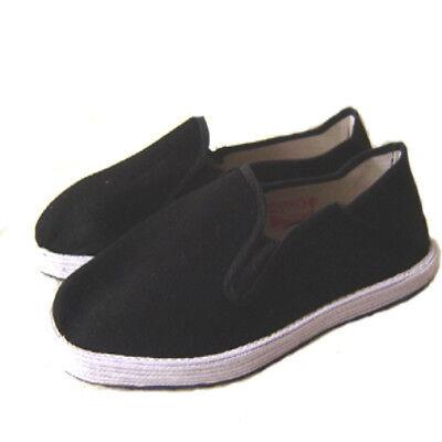 Originale Kung Fu Tai Chi-Schuhe aus China Slipper mit Stoffsohle DE-POSTFREE