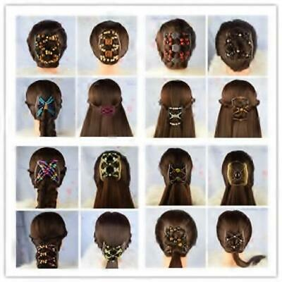 """US SELLER,Quality MS12 African Butterfly Combs Angel Wings Hair Clips 4x3.5/"""""""