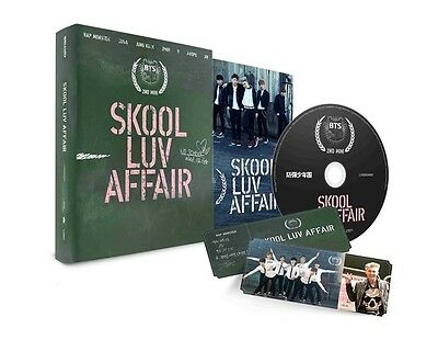US SHIPPING BTS-[SKOOL LUV AFFAIR] 2nd Mini Album CD+PhotoCard+Book Sealed 5