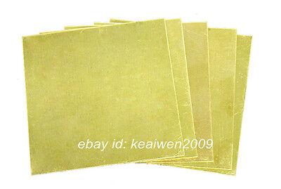 2pcs 150X150X1.5mm H62 Brass Sheet Brass Strip 1.5mm Thick Riveting Cutting Tool 3