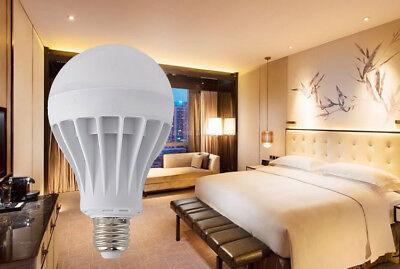 E27 3W/5W/7W/9W/12W/15W  LED Radar Lampe Birne mit Lampe Neu 11
