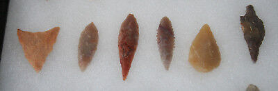 AUTHENTIC SAHARAN NEOLITHIC ARROWHEADS Small  23 pc GROUP #2 3