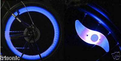 1-10X RGB Bike Bicycle Cycling LED Spoke Wire Tire Tyre Wheel Light Decor Lamp K