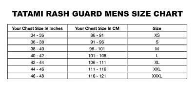Tatami King Sloth Mens BJJ Rash Guard Brazilian Jiu Jitsu Compression Top MMA