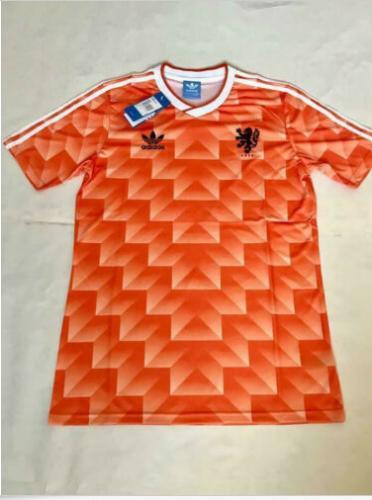 1988 Netherlands Home Retro Football Soccer Shirt Jersey Vintage Holland Classic 2