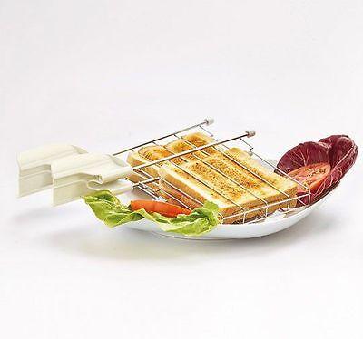 Ariete Kit 2 pinze supporto toast tostapane tostafette Vintage 155 0155 2