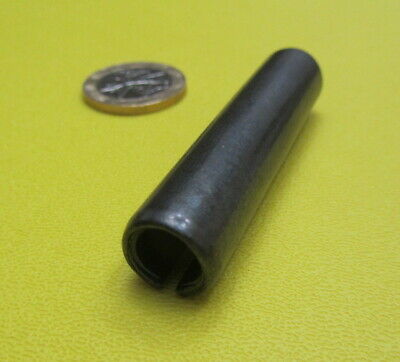 """Steel Slotted Spring Pin, 1/2"""" Dia x 2 1/4"""" Length,  20 pcs 3"""