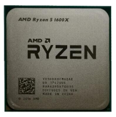 AMD Ryzen 5 R5-1400 R5-1500X R5-1600 R5-1600X Socket AM4 CPU Processor 8