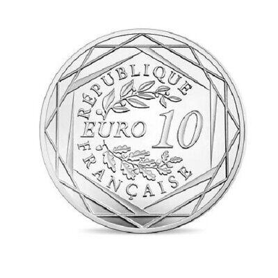 FRANCE 10 Euros Argent Chute du Mur de Berlin 2019 UNC Silver coin 5