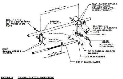 MaCo 4600-5KW !!! 10,000 Watt Antenna Gamma Match