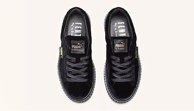 cheap for discount 8effc a33db creepers rihanna velvet
